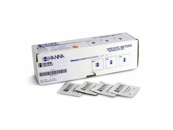 Reactivos en polvo cloro libre Hanna 100 test (HI 93701-01)
