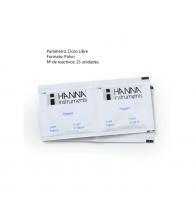 Reactivo en polvo Cloro libre Hanna HI701-25