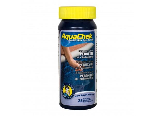 Medidor de peróxido en tiras Aquacheck
