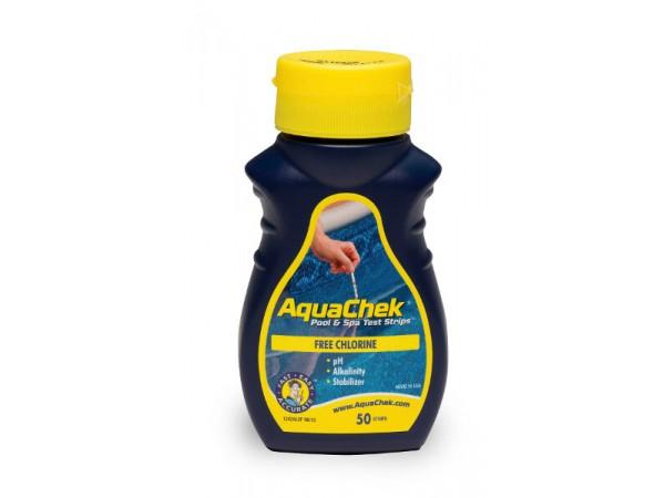 Aquacheck cloro libre, ph, alcalinidad total y ácido isocianúrico