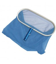 Recogehojas de fondo con aro de aluminio Poolstyle