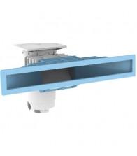 Skimmer boca estrecha con Frontal Azul 800