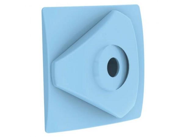 Embellecedor azul para boquilla de impulsión Weltico