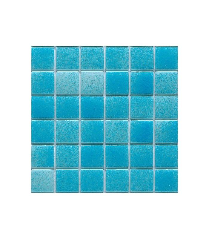 Gresite niebla azul caribe para revestimientos de piscinas for Gresite piscina precio m2