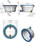 Nicho standar Astralpool para piscina prefabricada