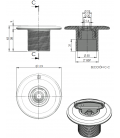 Boquilla impulsión Multiflow AstralPool para piscinas de Hormigón (enroscar)