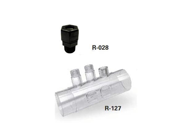 Portasondas Idegis R-127 + Racord portasondas
