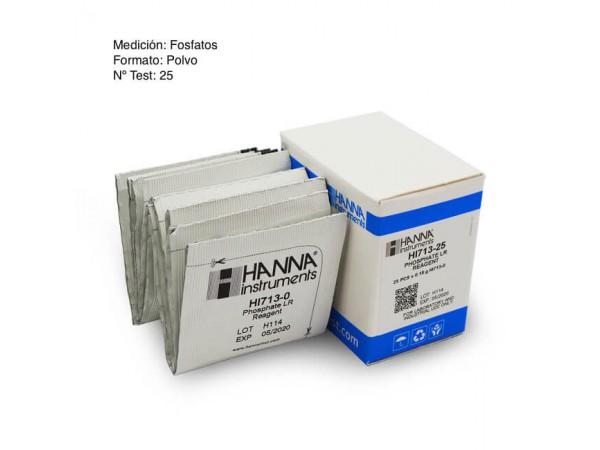 Reactivo Fosfatos Hanna HI713-25