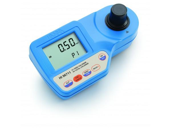 Fotometro para cloro libre y total HI96711