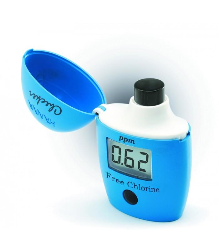 medidor digital de cloro libre hanna hi 701 gestion piscinas