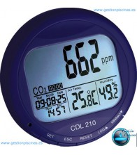 Medidor CO2 para piscinas climatizadas