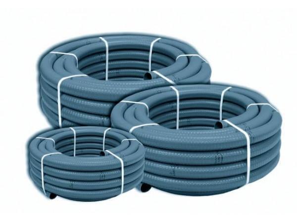Tubo PVC Flexible Gris