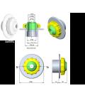 Boquilla de impulsión Multiflow AstralPool (encolar)
