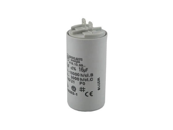 Condensador Bomba Astralpool Sena 16 UF
