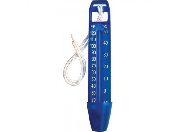 Termómetro Eco Azul con cuerda