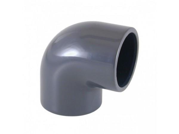 codo PVC 90 º