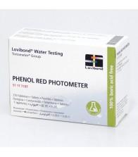 Pastillas Reactivo Phenol Red Lovibond