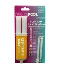 Adhesivo reparador para piscinas SB-POOL Super40