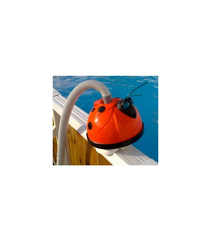 Limpiafondos mariquita ideal para piscinas desmontables for Limpiafondos piscina desmontable