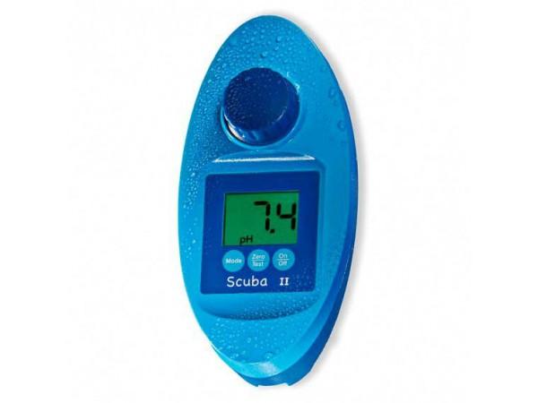 Fotómetro para medición de cloro y pH Scuba II