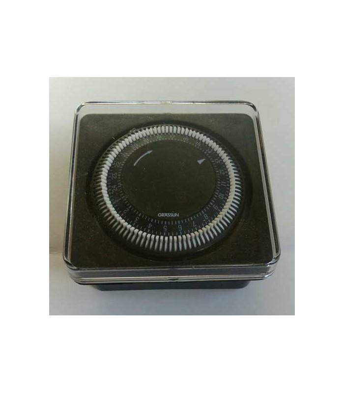 Reloj programador de piscina grasslin empotrable gestion for Reloj programador piscina precio