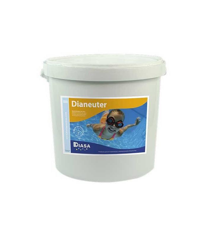 Neutralizador de cloro y bromo dianeuter en envase de 5 for Bromo para piscinas