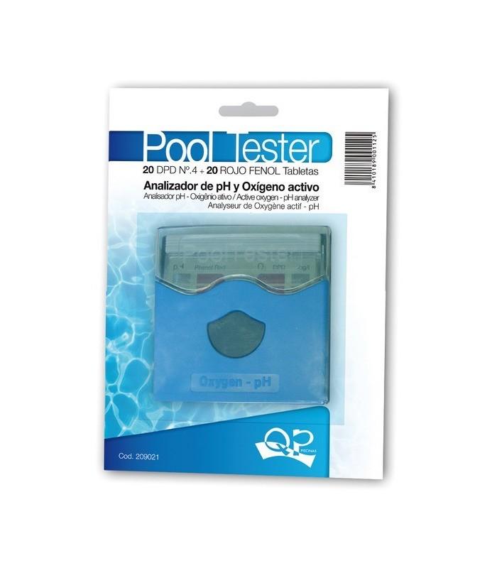Pooltester para el control y medici n de piscinas tratadas for Oxigeno activo piscinas