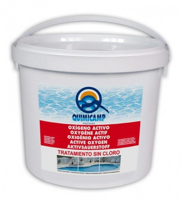 Ox geno activo en polvo para tratamiento de agua de for Oxigeno activo piscinas