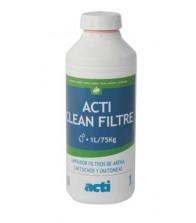 Desincrustante de filtros de piscina Acti Clean Filtre
