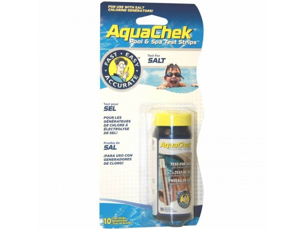 AquaChek para pruebas de sal