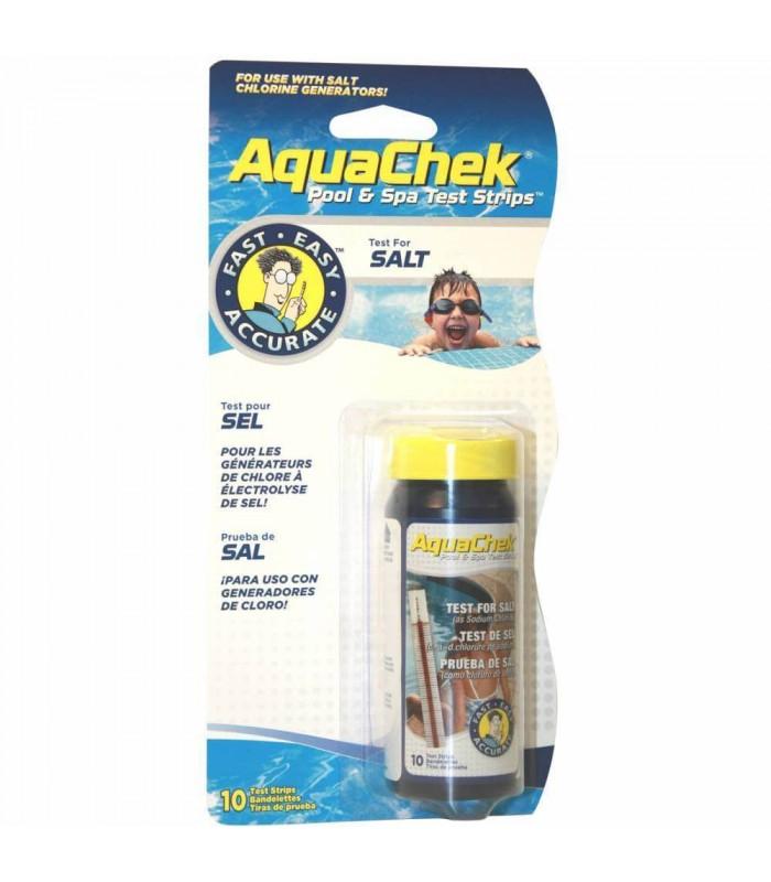 Kit aquachek para realizar pruebas de sal en el agua de - Sal para piscinas precio ...