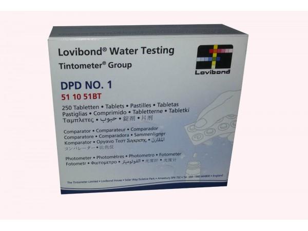 Recambio Pastillas Lovibond DPD1- Cloro libre