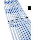 Placa de rejilla longitudinal Astralpool para rebosadero