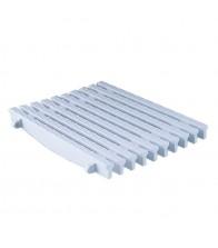 Placa para rebosaderos de piscinas de rejilla transversal