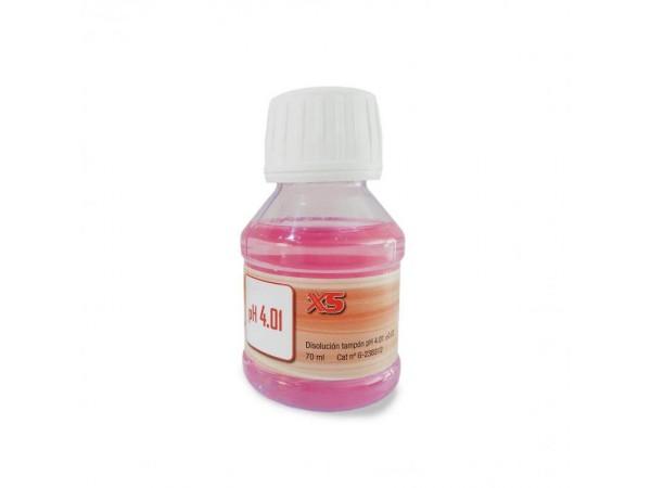 Solución Tampón pH 4