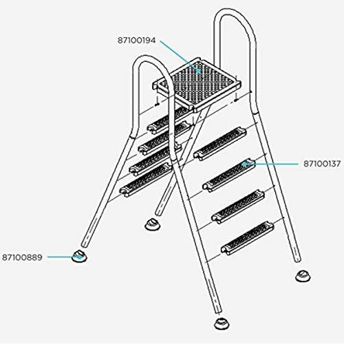 Despiece escalera Elevada Flexinox