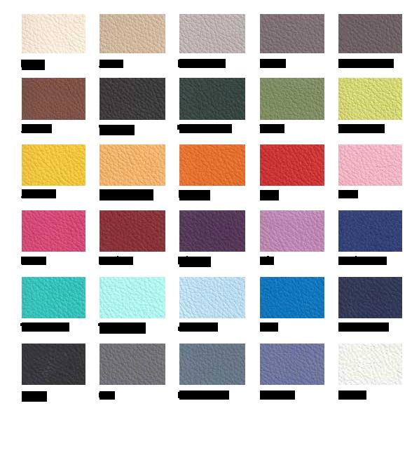 Colores Tapa Spas