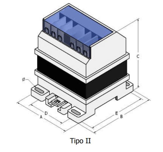transformador Torytrans TCL Tipo II led piscinas