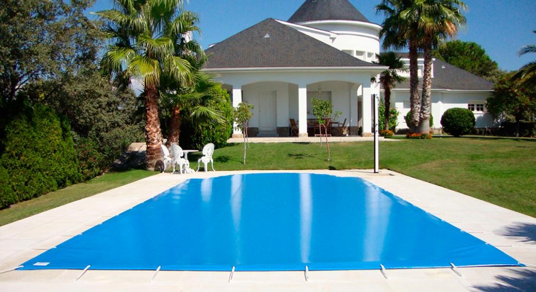 Cobertor Azul de invernaje de piscinas