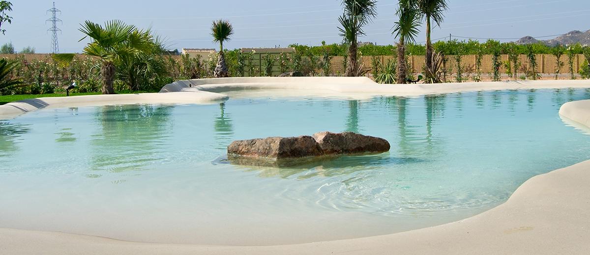 Piscinas de arena como se hacen trendy piscina de arena for Se hacen piscinas